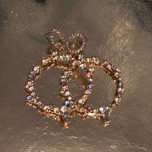Colorful Gem Earrings